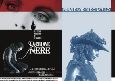 "David di Donatello 2010 – Shortfilm ""Lacrime Nere"""